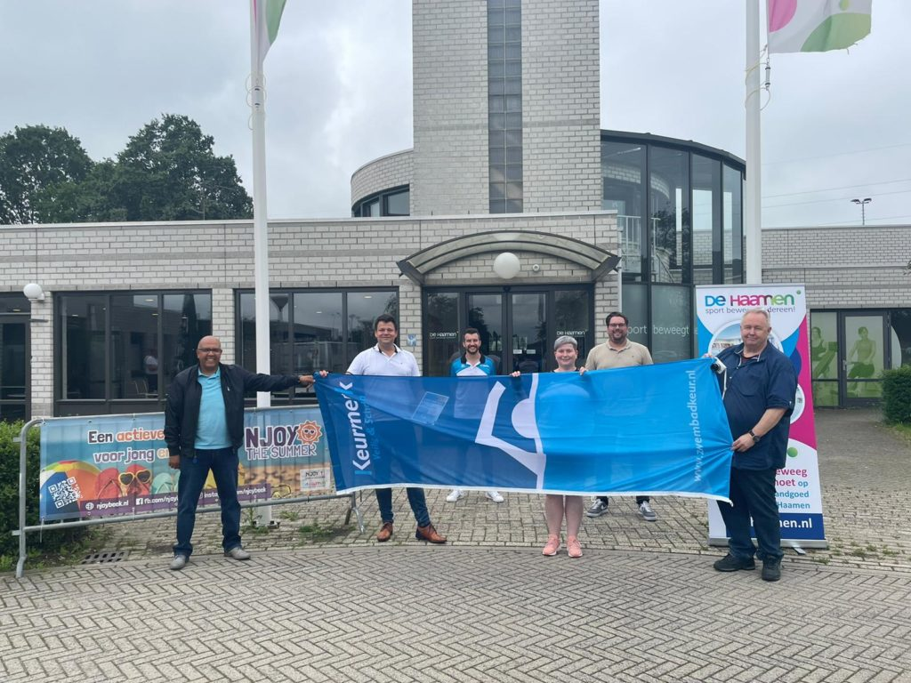 Zwembad De Haamen behaalt Keurmerk Veilig & Schoon